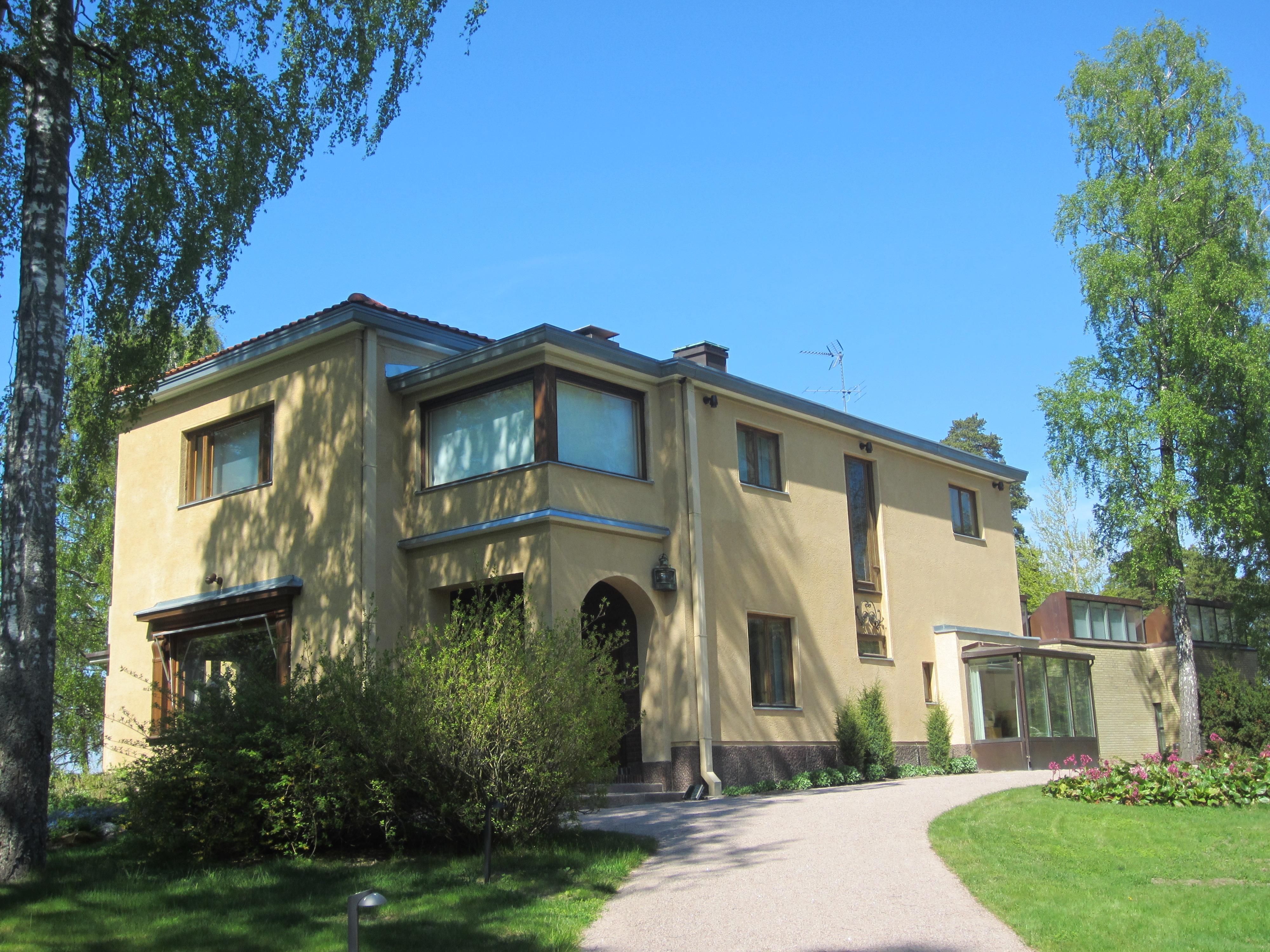 Villa Gyllenberg Helsinki Kuusisaari Osallistuvaa Havainnointia